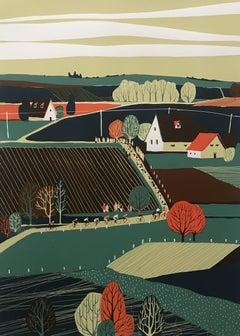 Eliza Southwood, Liège-Bastogne-Liège, Landscape Limited Edition Screen Print
