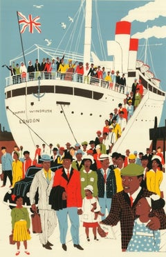 Eliza Southwood, London is the Place for Me, Limited Edition Print, Windrush Art