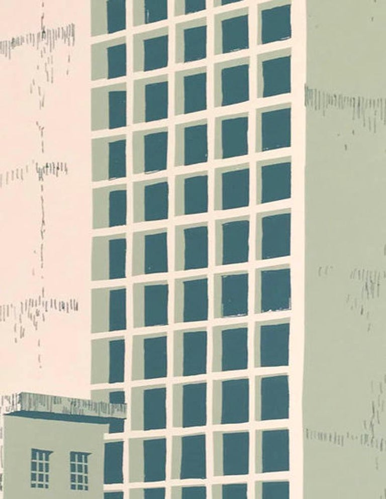 Tower Block – Manaus, Eliza Southwood, Limited Edition Silkscreen Print For Sale 8