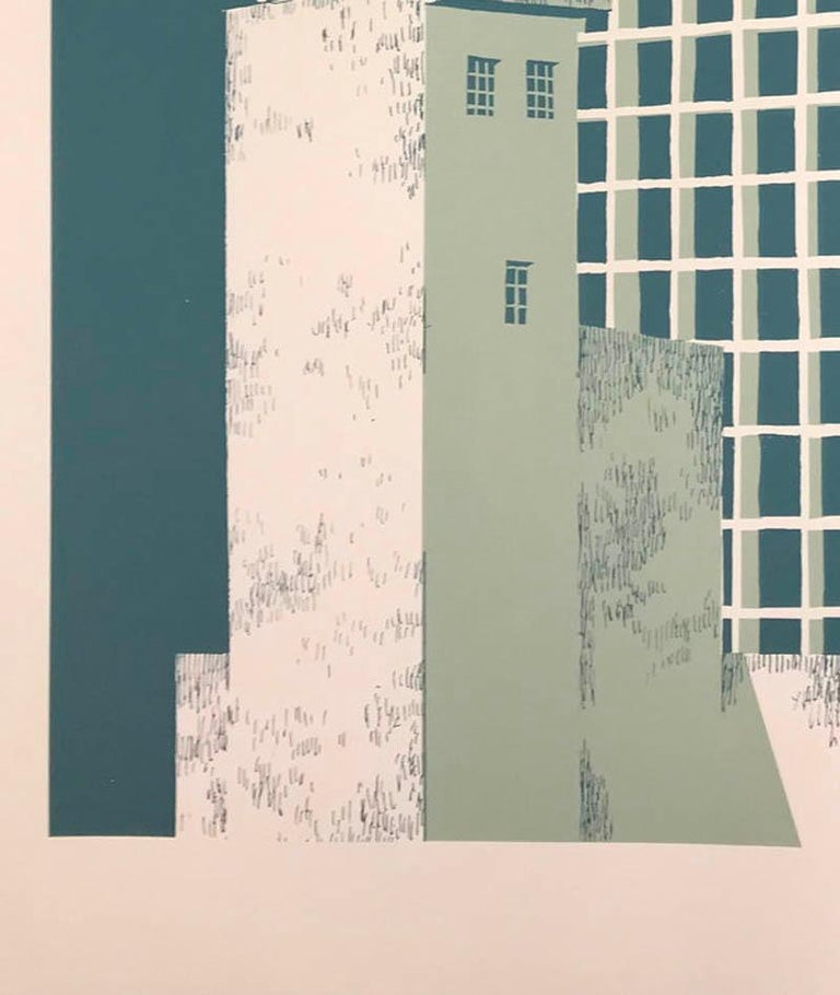 Tower Block – Manaus, Eliza Southwood, Limited Edition Silkscreen Print For Sale 3