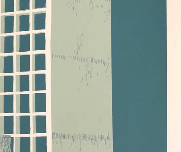 Tower Block – Manaus, Eliza Southwood, Limited Edition Silkscreen Print For Sale 6