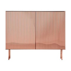 Elizabeth Cabinet in Copper by De Castelli