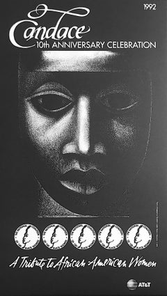 CANDACE 1992 Tribute To African American Women, Commemorative Art Poster