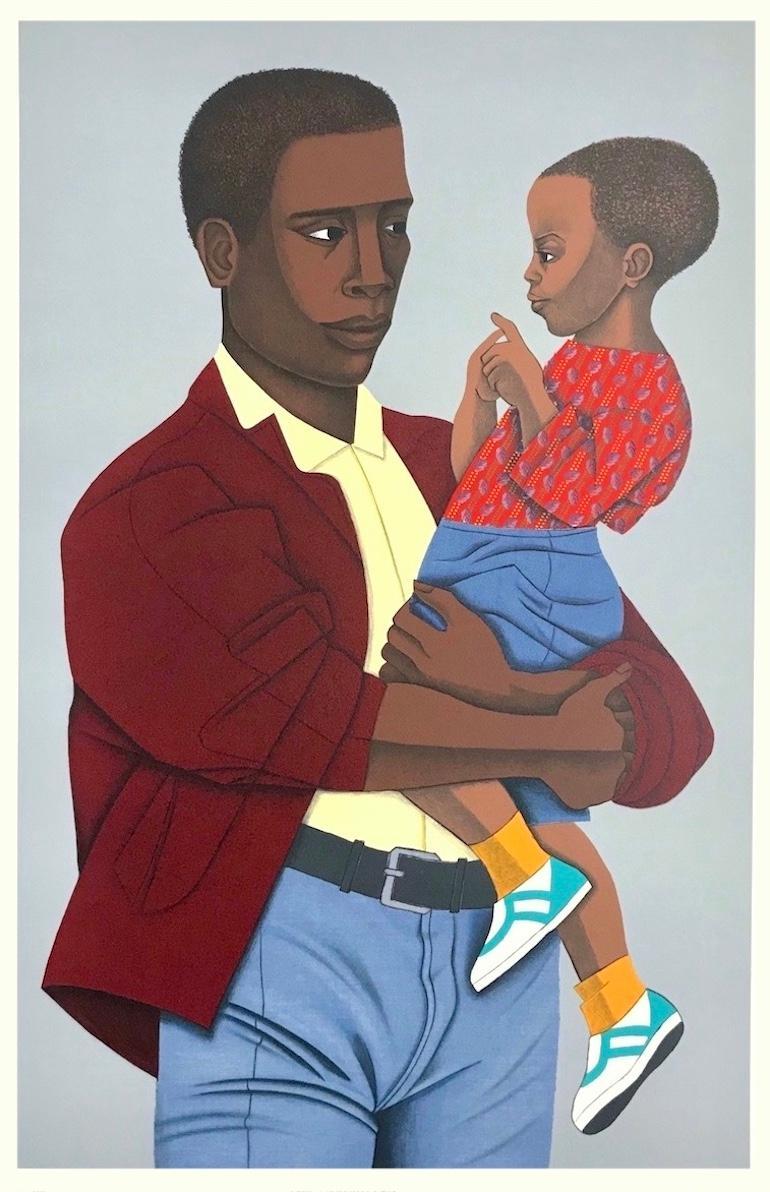 New Generation, 1992, by Elizabeth Catlett