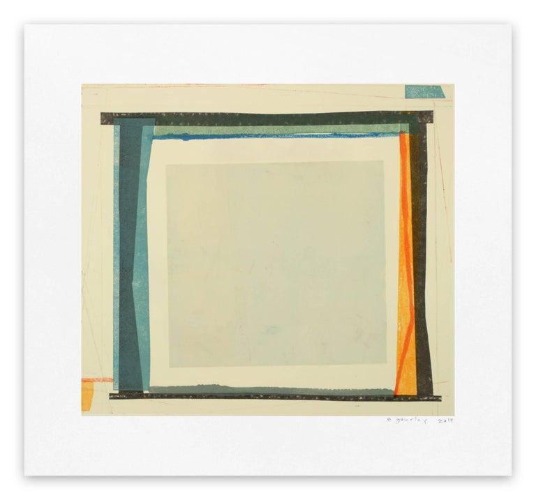 Elizabeth Gourlay Abstract Print - Kitha 7