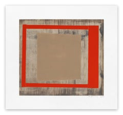 Oak red ash (Abstract print)