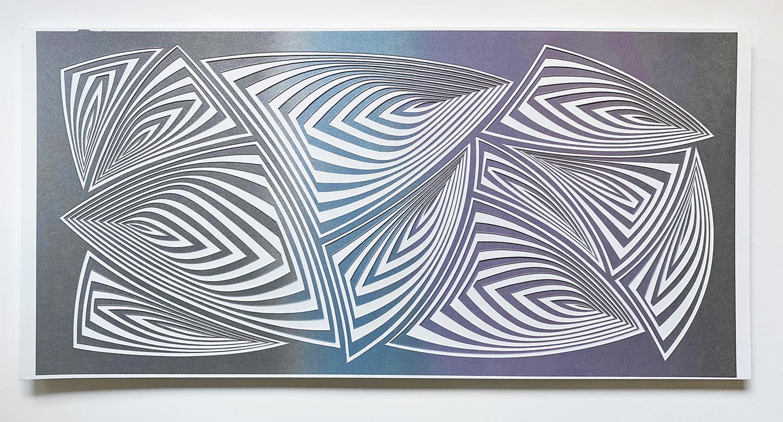 Silver Purple, 2020 by Elizabeth Gregory-Gruen at Ivy Brown Gallery