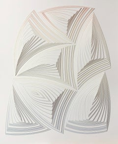 Cut Work, Freehand Cut with Surgical Scalpel, Silk-Screened: 'Soft Fade-Out'