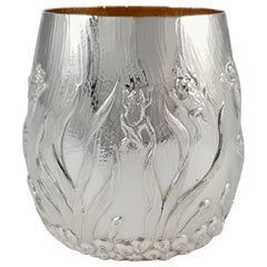 Elizabeth II Sterling Silver Beaker Garrard & Co., London, 1998