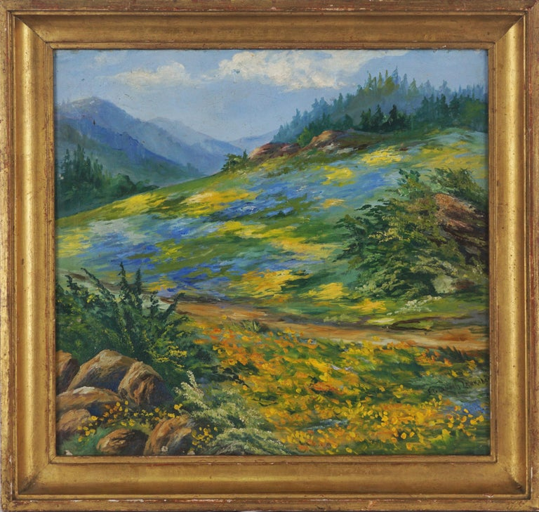 Canvas Landscape Paintings 12 908 For Sale At 1stdibs