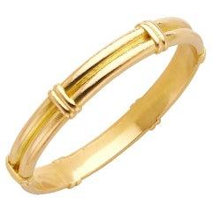 Elizabeth Locke 18k Gold Bangle Bracelet