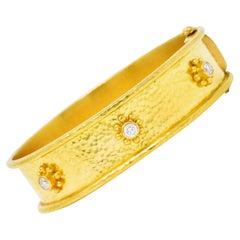 Yellow Gold Cuff Bracelets