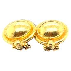 Elizabeth Locke Gold Earrings