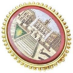 Elizabeth Locke Micro Mosaic Pin/Pendant