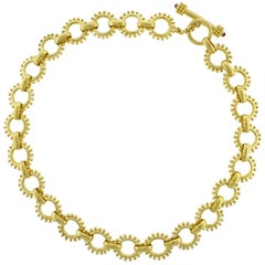 Elizabeth Locke Toggle Necklace