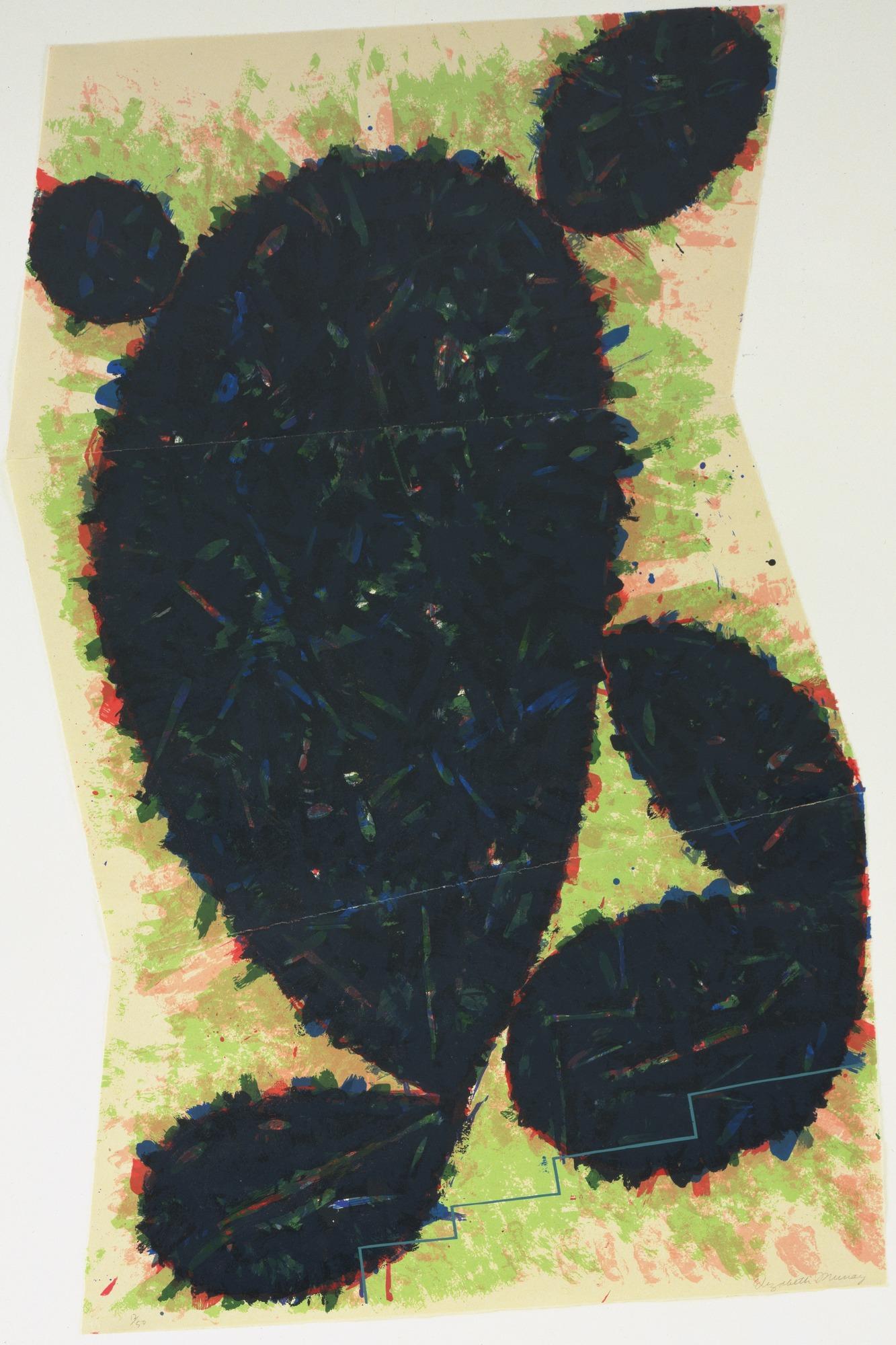"""""""Untitled"""" Elizabeth Murray Limited Edition Print"""