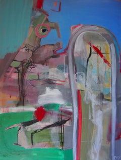 Spitting Image, Painting, Acrylic on Canvas