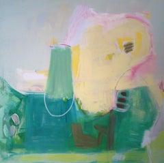 Spring Ahead, Painting, Acrylic on Canvas