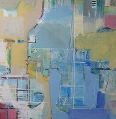 The Deep End, Painting, Acrylic on Canvas