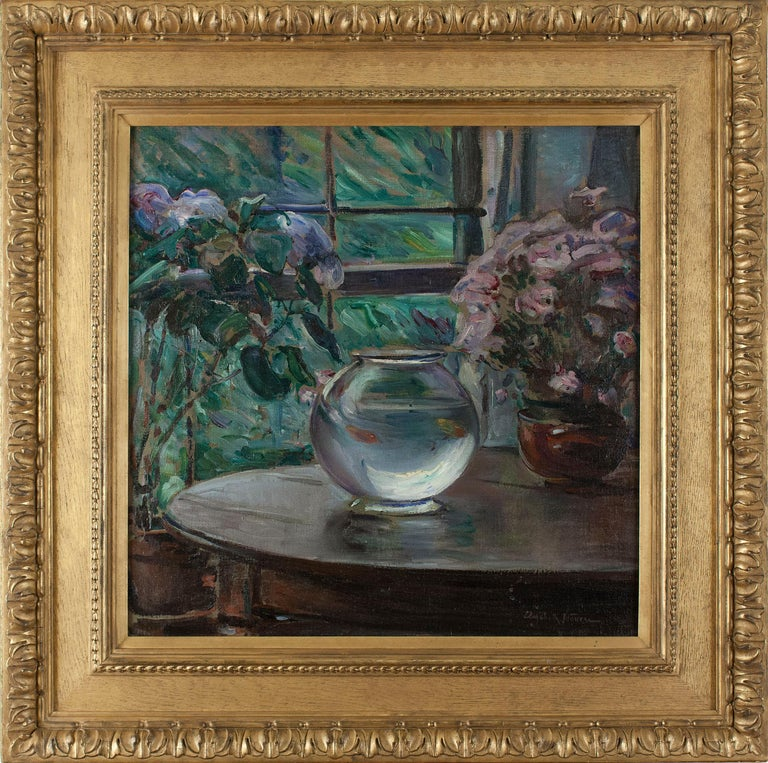 Elizabeth Nourse Etude Fleurs Painting For Sale At 1stdibs