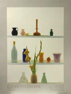 """""""Still Life with Orange Gladiolas""""-Galleri 69 Avenyn 43, Gothenburg, Sweden"""