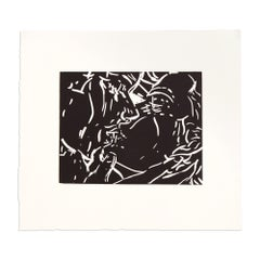 The Kiss, Etching on Wove Paper, Contemporary Art