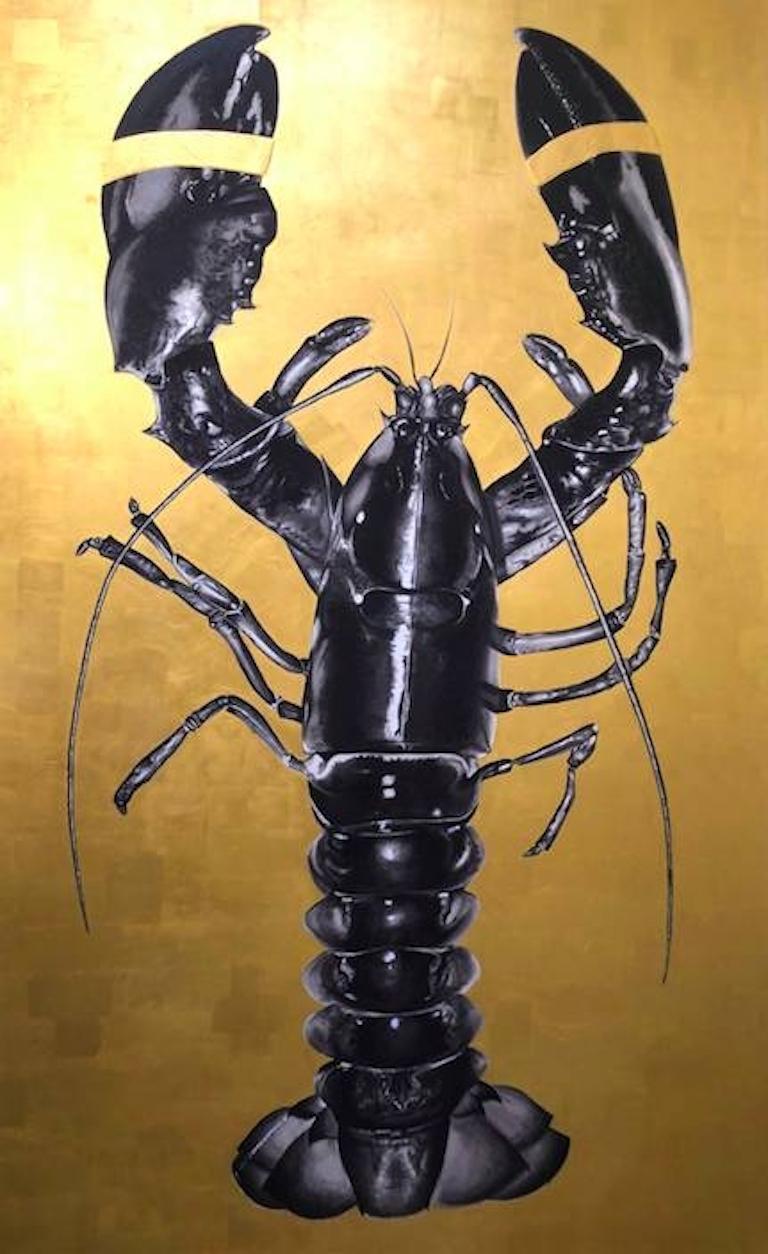 Elizabeth Waggett Animal Painting - The Golden Key