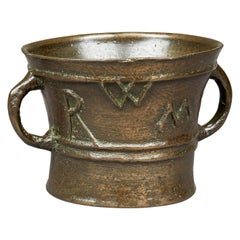 Elizabethan / James I Lead Bronze Mortar, English, circa 1590-1615
