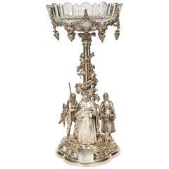 Elkington, Mason & Co. a Rare, Important, & Historic Silvered Bronze Centerpiece