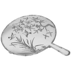 Antique Elkington, Silver Plated Aesthetic Movement Serving Tray