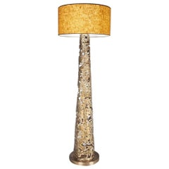 Ella Floor Lamp in Solid Bronze