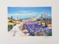 Lavender in Bloom (Lavande en fleur)