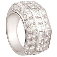 Ella Gafter Princess Cut Diamond Ring