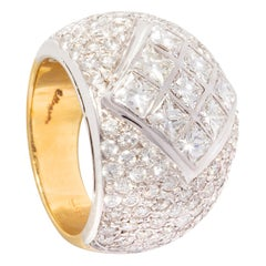 Ella Gafter Diamond Band Cocktail Ring