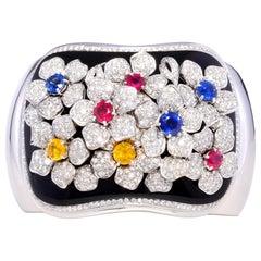 Ella Gafter Diamond Cuff Bracelet