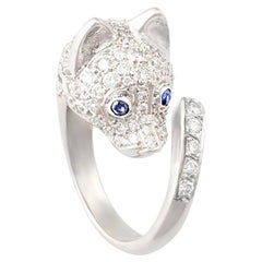 Ella Gafter Diamond Fox Ring