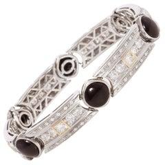 Ella Gafter Diamond Onyx Gold Bracelet
