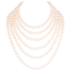 Ella Gafter Japanese Pearl Necklace