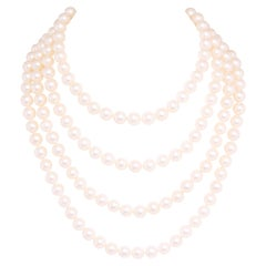 Ella Gafter Japanese Rope Strand Pearl Necklace