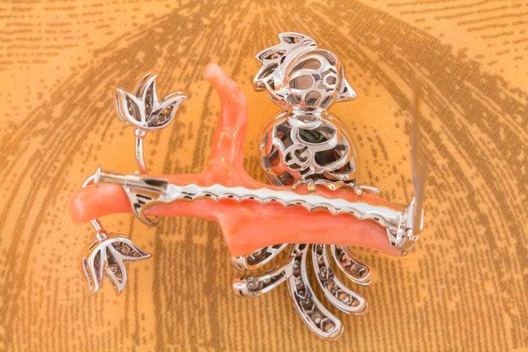 Ella Gafter Love Bird Diamond Pin Brooch  For Sale 3