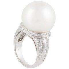 Ella Gafter 18mm Pearl Cocktail Ring
