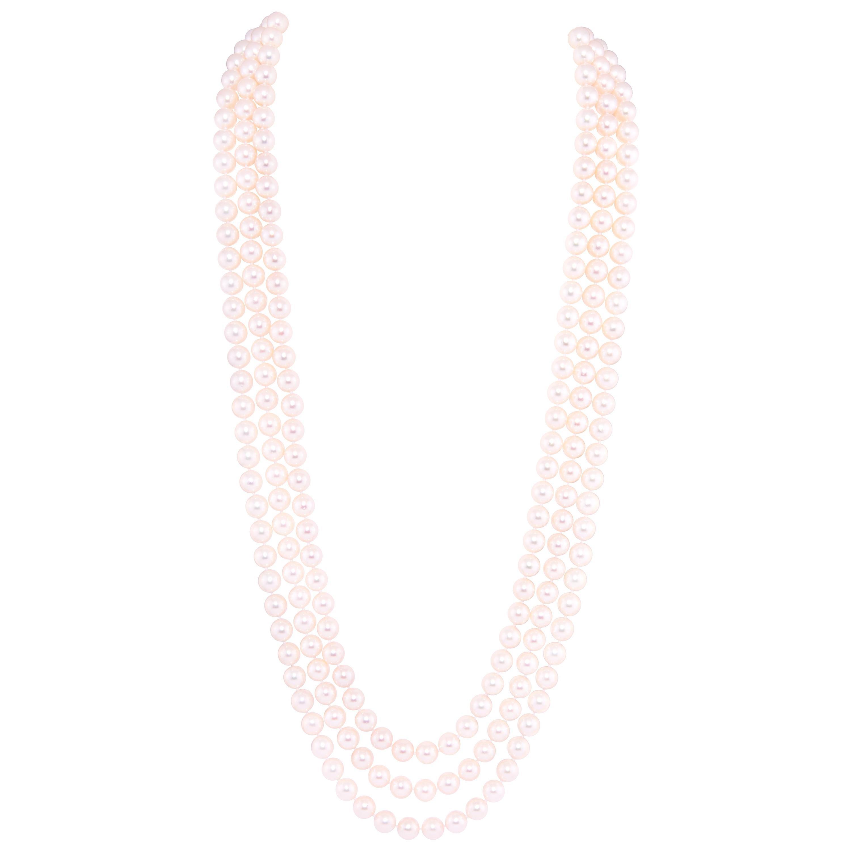 Ella Gafter Pearl Opera Length Necklace