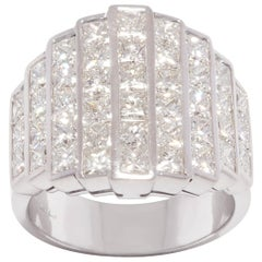 Ella Gafter Princess Cut Diamond Band