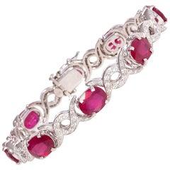 Ella Gafter Ruby Diamond Bracelet