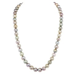 Ella Gafter Tahitian Diamond Pearl Strand Necklace