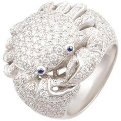 Ella Gafter Cancer Diamonds Zodiac Ring