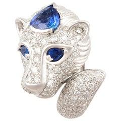 Ella Gafter Leo Diamond Zodiac Ring