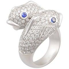 Ella Gafter Pisces Diamond Zodiac Ring
