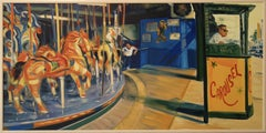 Carousel, Painting, Oil on Canvas