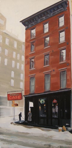 Fanelli Cafe, Painting, Oil on Canvas